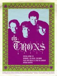 """Cartell del concert de """"Els Trons"""""""